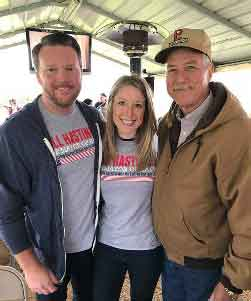 "Blake and Kristina Briner-Levien: ""Bill is like family. We support him 100% as the next Mayor. Also, if you would like a shirt PM me.""<br>Thank you Blake and Kristina for all the help you have given to me. I appreciate your support!"