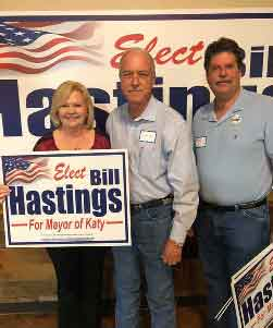 "Linda and Rick Payne: ""Bill is full of integrity, honesty and character. We have know Bill over 25 years and we have never had a cross word. He will be a great Mayor!""<br>Thank you for the support Linda Mann Payne and Richard Payne"